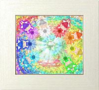 虹の環花畑