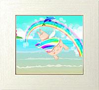 喜び満ちる希望の虹の架け橋