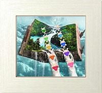 虹天使の滝登り