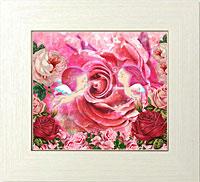 ピンク薔薇の愛の証
