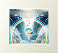 ツイン滝と虹の環