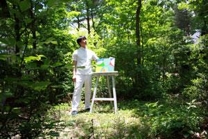 森の中のアトリエの紹介